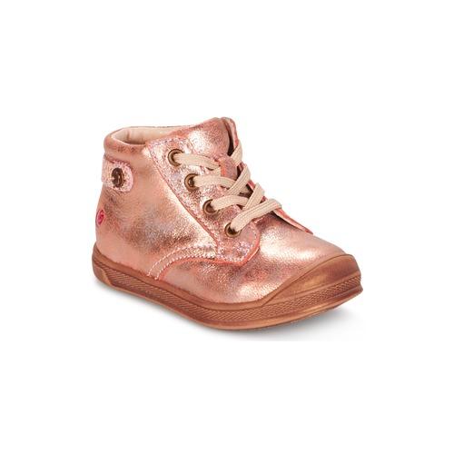 Sapatos Rapariga Sapatilhas de cano-alto GBB REGINE Rosa