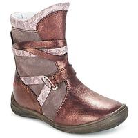 Sapatos Rapariga Botas baixas GBB ROSANA Rosa / Bordô