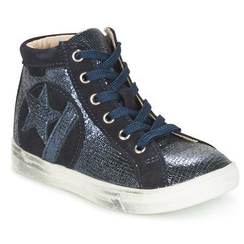 Sapatos Rapariga Sapatilhas de cano-alto GBB MARTA Marinho