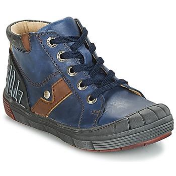 Sapatos Rapaz Sapatilhas de cano-alto GBB RENOLD Marinho