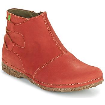 Sapatos Mulher Botas baixas El Naturalista ANGKOR Laranja