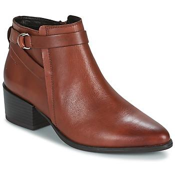 Sapatos Mulher Botins Vagabond MARJA Castanho