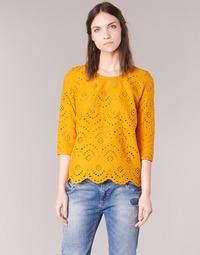 Textil Mulher Tops / Blusas Betty London GRIZ Amarelo