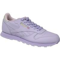 Sapatos Criança Sapatilhas Reebok Sport Classic Leather BD5543 Violet