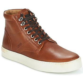 Sapatos Homem Sapatilhas de cano-alto Hugo Boss Orange NOIR HALB LTWS Conhaque