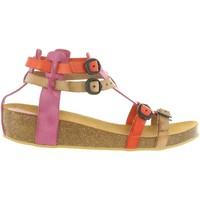 Sapatos Rapariga Sandálias Kickers 420390-30 BOMDIA Rosa