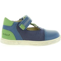 Sapatos Criança Sapatos urbanos Kickers 413551-10 TROPICO Azul