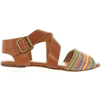 Sapatos Mulher Sandálias MTNG 93972 Marrón