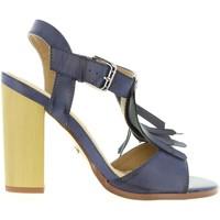 Sapatos Mulher Escarpim Maria Mare 66104 Azul