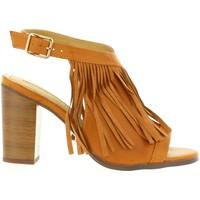 Sapatos Mulher Escarpim Maria Mare 66105 Marr?n
