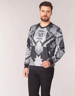 Textil Homem Sweats Versace Jeans B7GQA7F5 Preto / Cinza