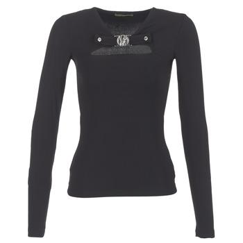 Textil Mulher Tops / Blusas Versace Jeans B2HQA732 Preto