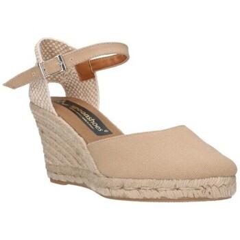 Sapatos Homem Alpargatas Fernandez 682   7/C    c-6a Mujer Tostado marron