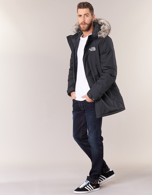 ZANECK  The North Face  parkas  homem  preto