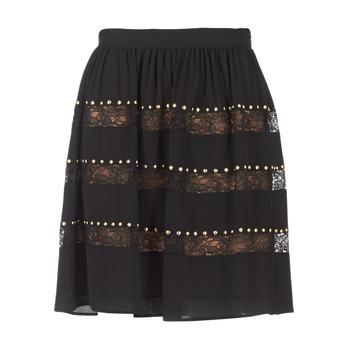 Textil Mulher Saias MICHAEL Michael Kors HT/ LACE MIX Preto