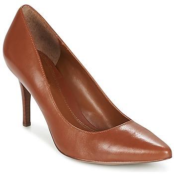 Sapatos Mulher Escarpim Ralph Lauren REAVE Conhaque