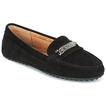 Sapatos Mulher Mocassins Lauren Ralph Lauren BERDINE Preto