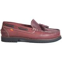 Sapatos Mulher Sapato de vela La Valenciana ZAPATOS APACHE  MONTIJO BURDEOS Rojo
