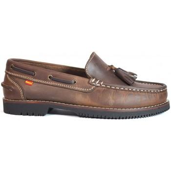Sapatos Mulher Sapato de vela La Valenciana Zapatos Apache  Montijo Marrón Castanho