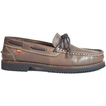 Sapatos Mulher Sapato de vela La Valenciana Zapatos Apache  Olivenza Marrón Castanho