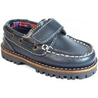 Sapatos Criança Sapato de vela La Valenciana Zapatos Niños  031 Marino Azul