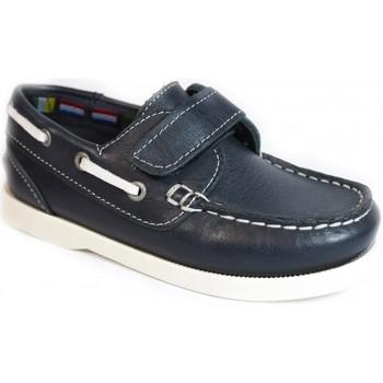 Sapatos Criança Sapato de vela La Valenciana Zapatos Niños  020 Marino Azul