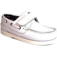 Sapatos Criança Sapato de vela La Valenciana Zapatos Niños  020 Blanco Branco