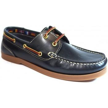 Sapatos Homem Sapato de vela La Valenciana Zapatos  1688 Marino Azul