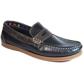 Sapatos Homem Sapato de vela La Valenciana Zapatos  1694 Marino Azul