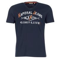 Textil Homem T-Shirt mangas curtas Kaporal MAKAO Marinho