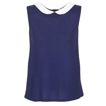 Textil Mulher Tops / Blusas Naf Naf OCHOUPI Marinho