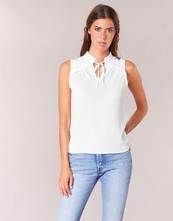 Textil Mulher Tops / Blusas Naf Naf PIPANA Branco