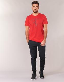 Textil Homem Calças de treino Puma SWEAT PANTS SLIM FL Preto