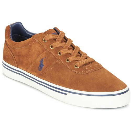 Sapatos Homem Sapatilhas Polo Ralph Lauren HANFORD Conhaque