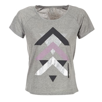 Textil Mulher T-Shirt mangas curtas Only Play LINDA Cinza