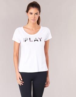 Textil Mulher T-Shirt mangas curtas Only Play LINDA Branco