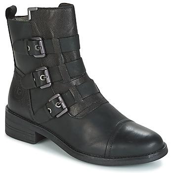 Sapatos Mulher Botas baixas Bugatti POMO Cinza / Escuro