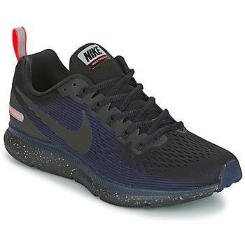Sapatos Mulher Sapatilhas de corrida Nike AIR ZOOM PEGASUS 34 SHIELD Preto / Azul