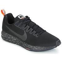 Sapatos Homem Sapatilhas de corrida Nike AIR ZOOM STRUCTURE 21 SHIELD Preto