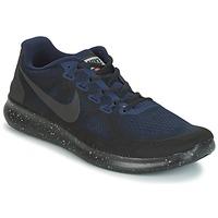 Sapatos Homem Sapatilhas de corrida Nike FREE RUN 2017 SHIELD Preto / Azul