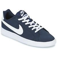 Sapatos Criança Sapatilhas Nike COURT ROYALE GRADE SCHOOL Azul / Branco