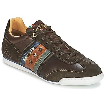 Sapatos Homem Sapatilhas Pantofola d'Oro IMOLA UOMO LOW Castanho