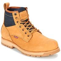 Sapatos Homem Botas baixas Levi's LOGAN Amarelo