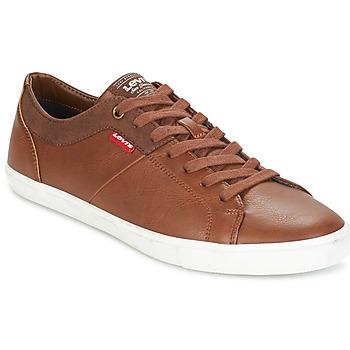 Sapatos Homem Sapatilhas Levi's WOODS Castanho