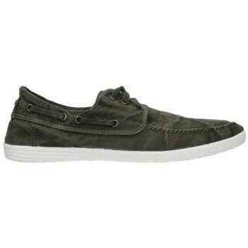 Sapatos Homem Sapato de vela Natural World 303E - Kaki vert