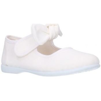Sapatos Rapariga Sabrinas Batilas 10601 Niña Blanco blanc