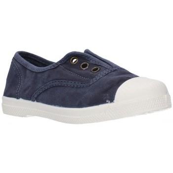 Sapatos Rapaz Sapatilhas Natural World LONAS NIÑOS - bleu