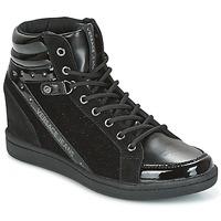 Sapatos Mulher Sapatilhas de cano-alto Versace Jeans GERFI Preto