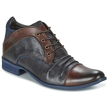 Sapatos Homem Botas baixas Kdopa HELSINKI Castanho / Azul