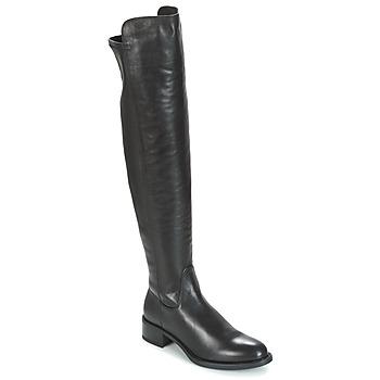 Sapatos Mulher Botas altas Unisa ELVIS Preto